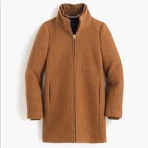 J Crew Italian Wool Stadium Cloth Lodge Coat 4